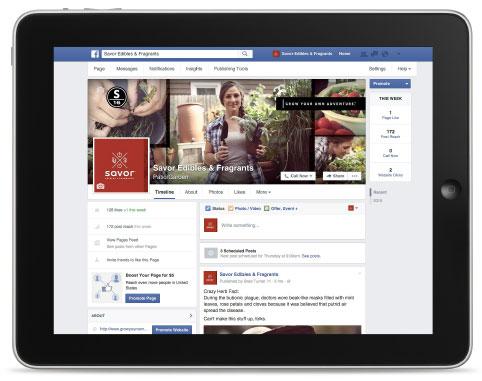 Savor on Facebook